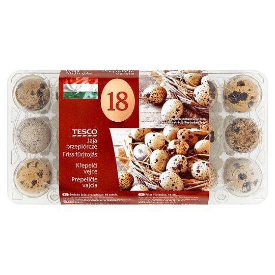 Tesco Fresh Quail Eggs 18 pcs
