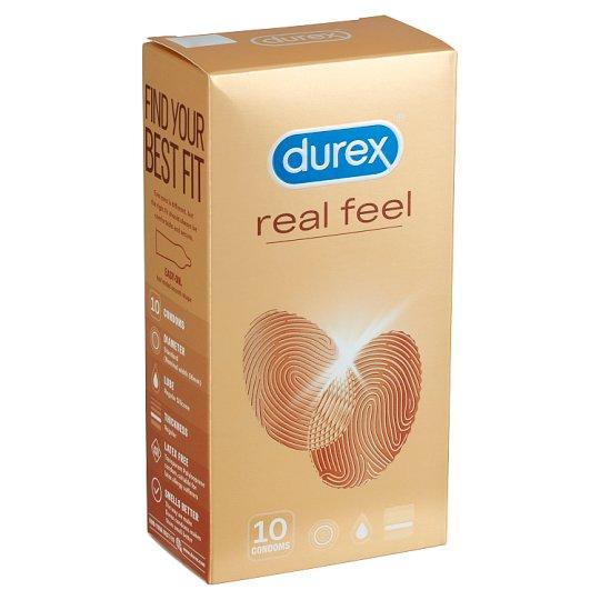 Durex RealFeel óvszer 10 db