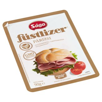 Sága Füstlizer Sliced Turkey Bologna Sausage 90 g