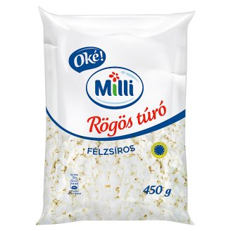 Milli Oké! Semi-Fat Cottage Cheese 450 g