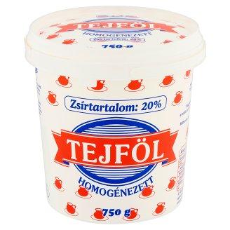 Félegyházi Tej tejföl 20% 750 g