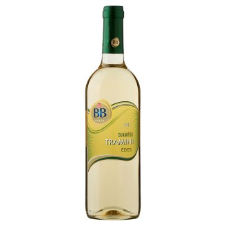 BB Dunántúli Tramini édes fehérbor 11% 0,75 l