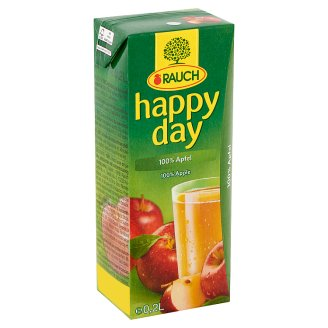 Rauch Happy Day 100% Apple Juice 0,2 l