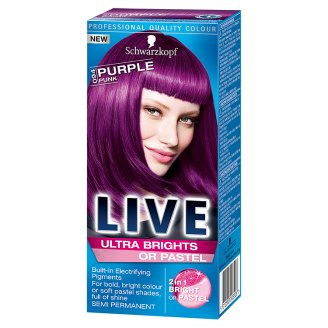 Schwarzkopf Live Ultra Brights 94 Purple Punk Hair Colorant
