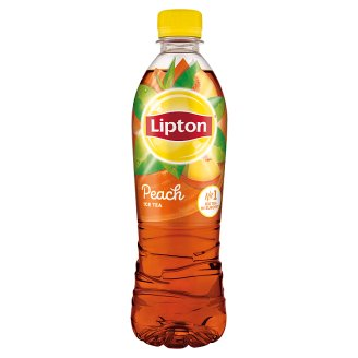 Lipton Ice Tea Peach Flavored Non-Carbonated Drink with Sugar and Sweetener 500 ml