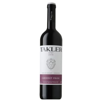 Takler Cabernet Franc száraz vörösbor 14% 0,75 l