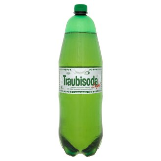 Traubisoda Light Energy-Reduced Carbonated White Grape Drink with Sweeteners 2 l