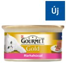 Gourmet Gold Beef Pate Complete Pet Food for Adult Cats 85 g
