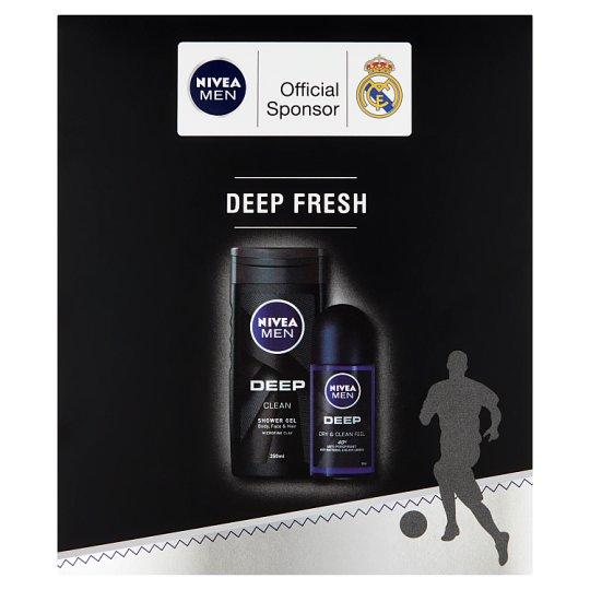 NIVEA Men Deep Fresh ajándékcsomag