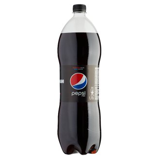 Pepsi Black Cola Flavoured Energy-Free Carbonated Drink with Sweeteners 1,75 l