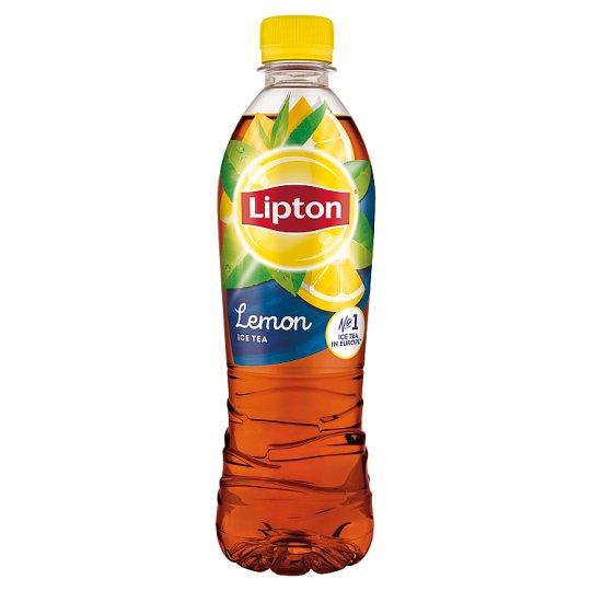 Lipton Ice Tea Lemon Flavoured Carbonated Drink with Sugar and Sweetener 500 ml
