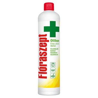 Flóraszept Otthon Disinfectant Liquid Cleaner with Fresh Lemon Scent 1000 ml