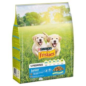 Friskies Junior állateledel kutyák számára csirkével 3 kg