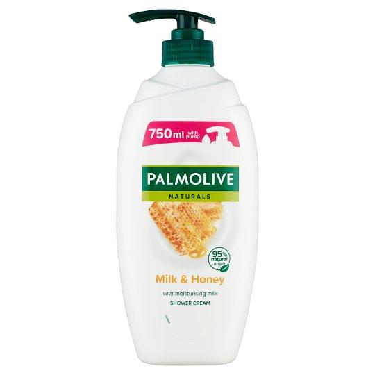 Palmolive Naturals Milk & Honey tusfürdő méz kivonattal és hidratáló tejjel 750 ml