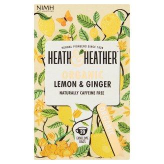 Heath & Heather BIO citrom-gyömbér tea 20 filter 30 g