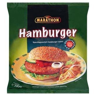 Marathon gyorsfagyasztott hamburger szelet 500 g