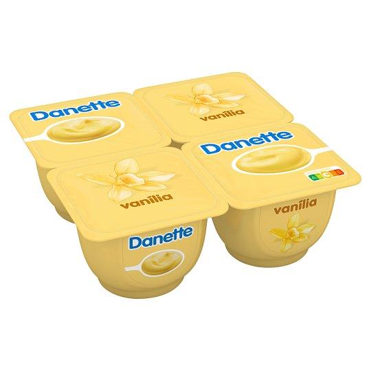 Danone Danette vaníliaízű puding 4 x 125 g