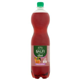 Deit Forest Fruit Flavoured Energy Free Carbonated Soft Drink with Sweetener 1,5 l