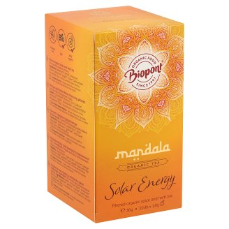 Biopont Mandala Solar Energy Filtered Organic Spice and Herb Tea 20 Tea Bags 36 g