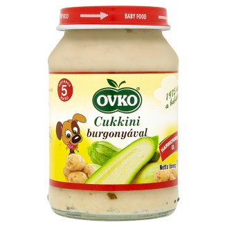 Ovko Gluten-Free Zucchini with Potatoes Baby Food 5+ Months 190 g