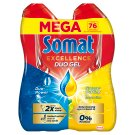 Somat Gold Gel Grease Cutting Lemon & Lime gépi mosogatószer gél 2 x 684 ml