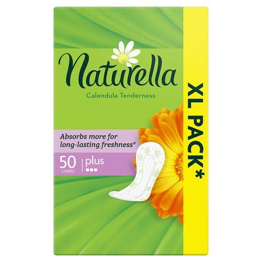 Naturella Plus Calendula Tenderness Tisztasági Betét, 50 db