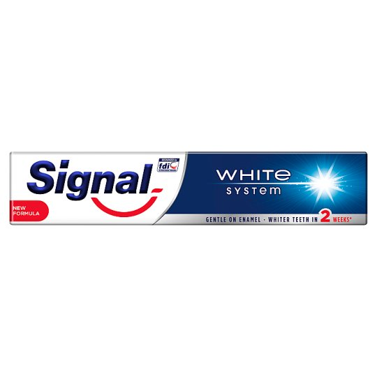 Signal White System Toothpaste 75 ml