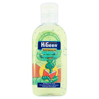 HiGeen Nino Anti-Bacterial Alcohol Based Hand Sanitizer 5+ Years 80 ml