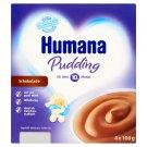 Humana csokoládé puding 10 hónapos kortól 4 x 100 g