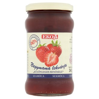 Eko Grandma's Strawberry Jam 340 g