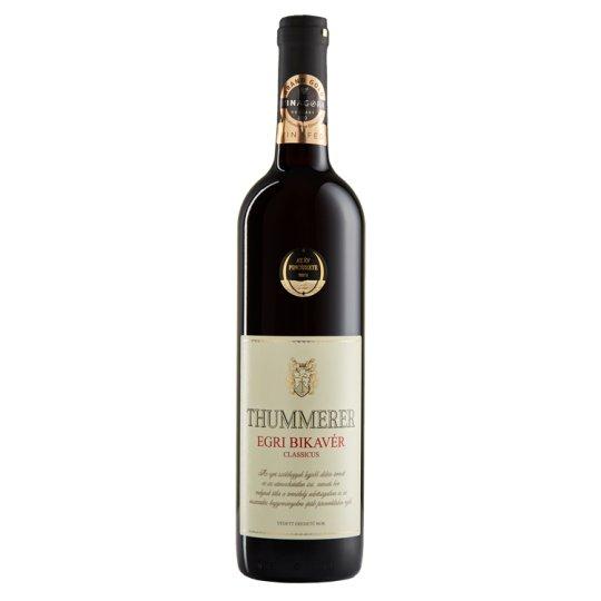 Thummerer Bikavér száraz vörösbor 14% 0,75 l