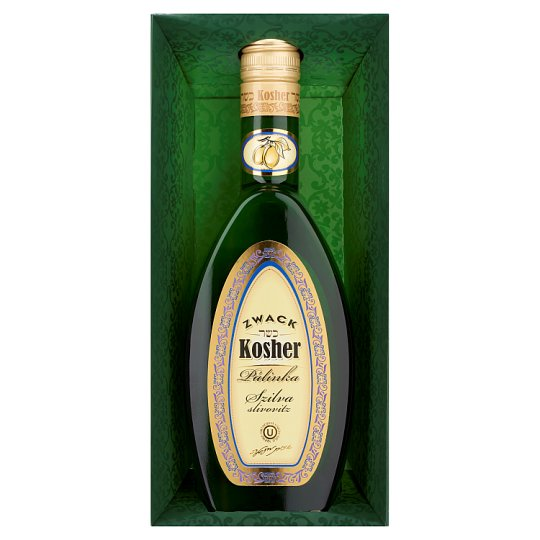 Zwack Kosher Plum Palinka in Fancy-Box 40% 0,5 l
