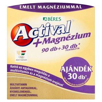 Béres Actival+Magnesium Tablets 90 + 30 pcs 173 g