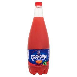 Orangina Red Orange szénsavas narancs üdítőital, vérnaranccsal és narancsrosttal 1,4 l