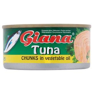 Giana Tuna Chunks in Vegetable Oil 185 g