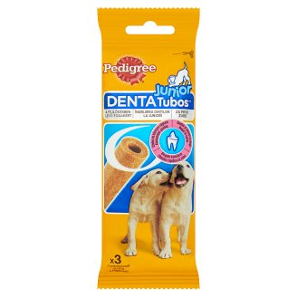 Pedigree Junior Denta Tubos Complementary Pet Food for Puppies with Chicken 3 pcs 72 g