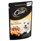 Cesar teljes értékű állateledel felnőtt kutyák számára lágy csirkével és sárgarépával 100 g