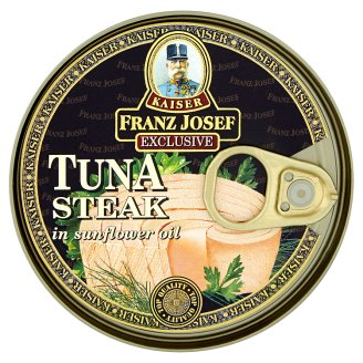 Kaiser Franz Josef Exclusive Tuna Steak in Sunflower Oil 170 g