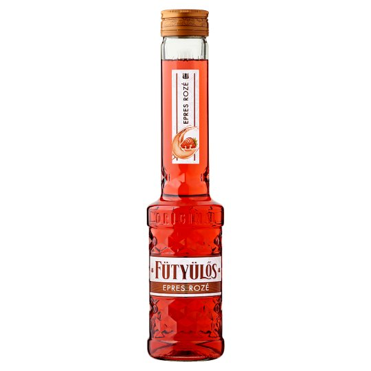 Fütyülős Strawberry Rose Liqueur 30% 0,5 l