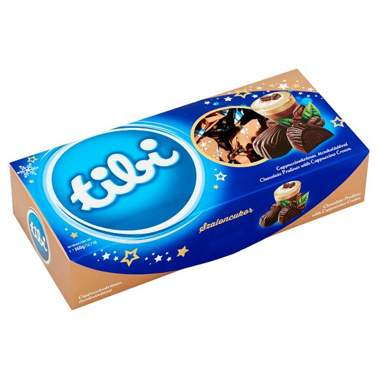 Tibi Chocolate Pralines with Cappuccino Cream 360 g