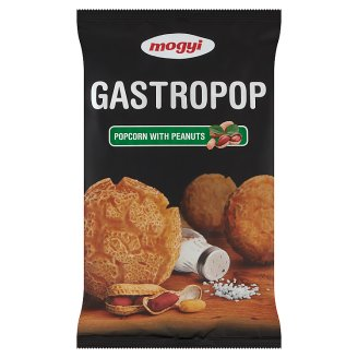 Mogyi Gastropop Popped Corn with Salt and Peanuts 80 g