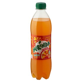 Mirinda Orange Carbonated Soft Drink wit Sweetener 0,5 l