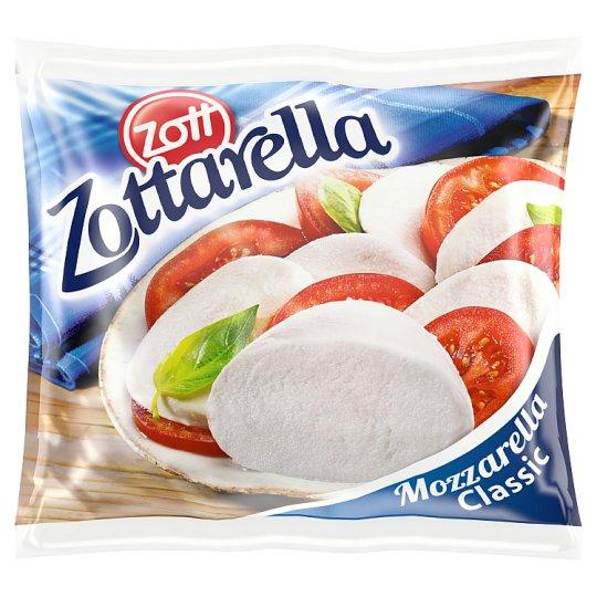 Zott Zottarella Classic Fat Soft Mozzarella Cheese 125 g