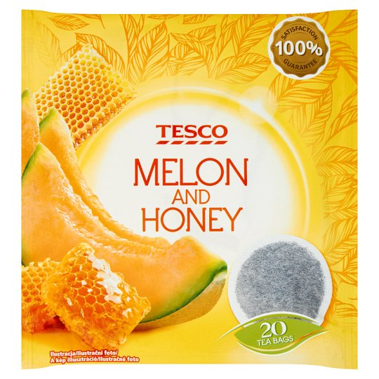 Tesco Melon and Honey Flavoured Fruit Tea 20 Tea Bags 40 g
