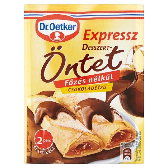 Dr. Oetker Expressz csokoládéízű desszertöntetpor 52 g