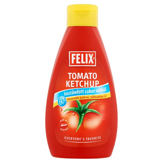 Felix Tomato Ketchup with Sweeteners 960 g