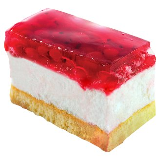 Currant-Cottage Cheese Flavoured Cake Slice
