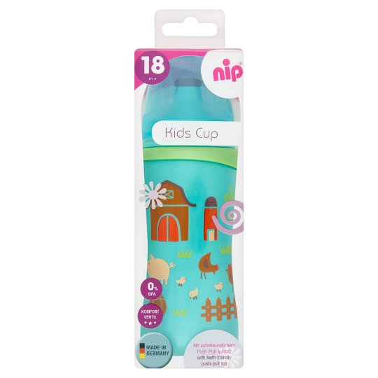 NIP Kids Cup  330 ml Sport Anti-Colic Massive Cup with Spout 18+ Months