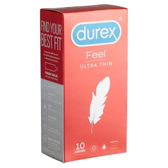 Durex Feel Ultra Thin óvszer 10 db