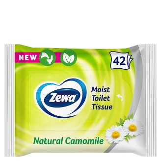 Zewa Natural Camomile Moist Toilet Tissue 42 pcs